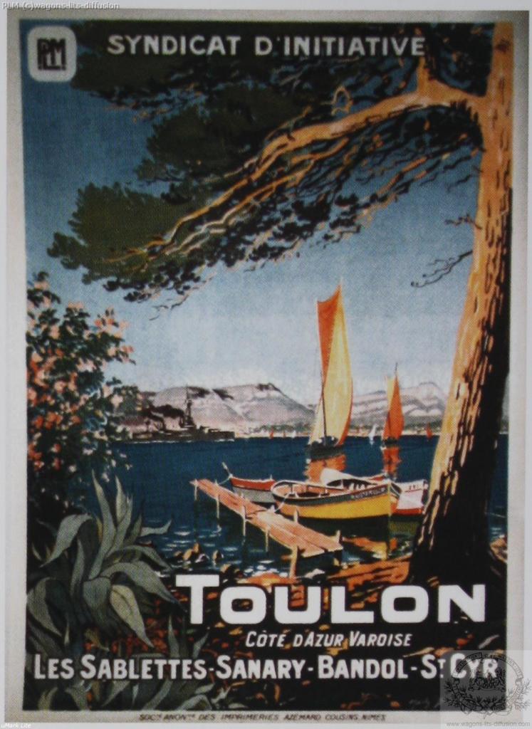 PLM Toulon Sanary Bandol