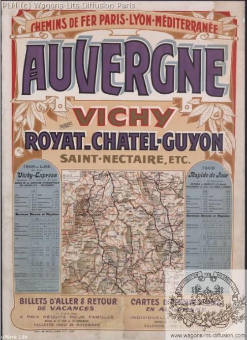 PLM Vichy Auvergne Chatel Guyon