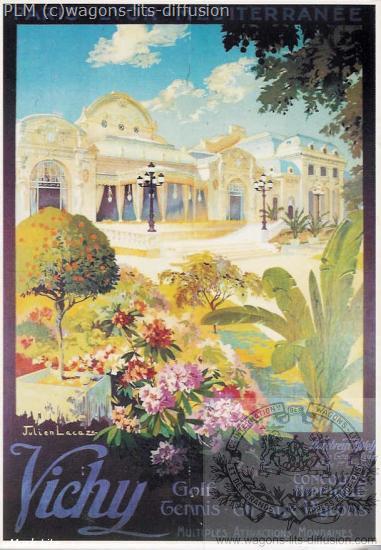 PLM Vichy-fleurs (Ref N° 848