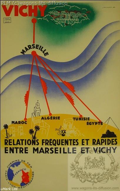 PLM Vichy Marseille