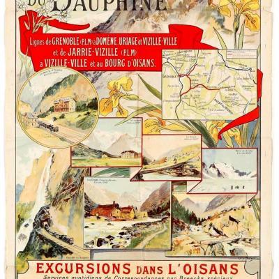 PLM Voies ferrées du Dauphiné Ref 1054