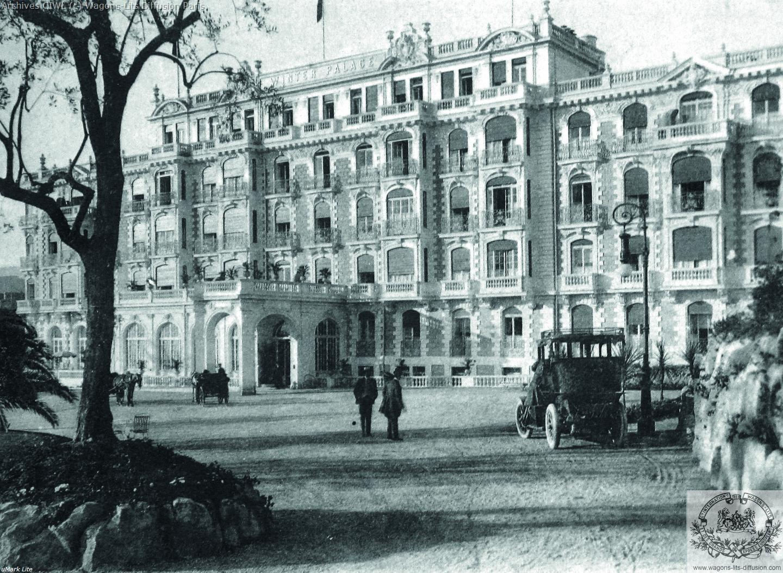 Plm winter palace hotel nice 1925