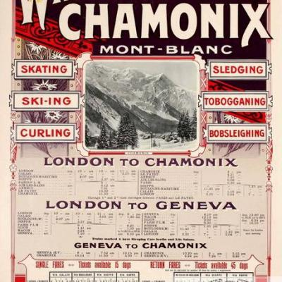 PLM Winter Sports Chamonix Mont-Blanc Ref 1086