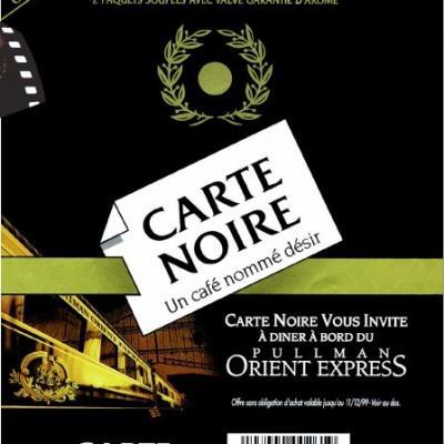 licence pub/promotion CIWL Carte Noire FRA