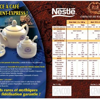 licence promotion Nestle ESP