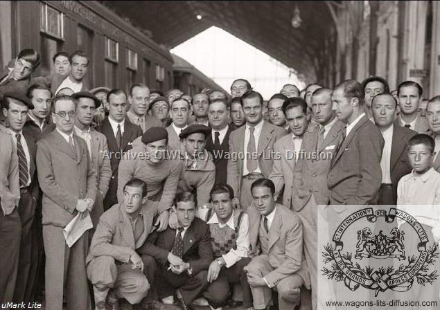 WL 1935 Equipe de foot Espagne