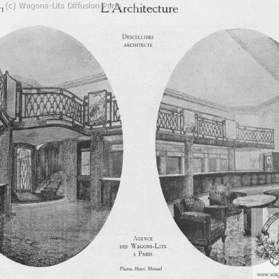 Wl agence wl opera paris 1930