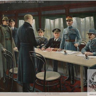 Wl armistice 6 redition 1918 rethondes
