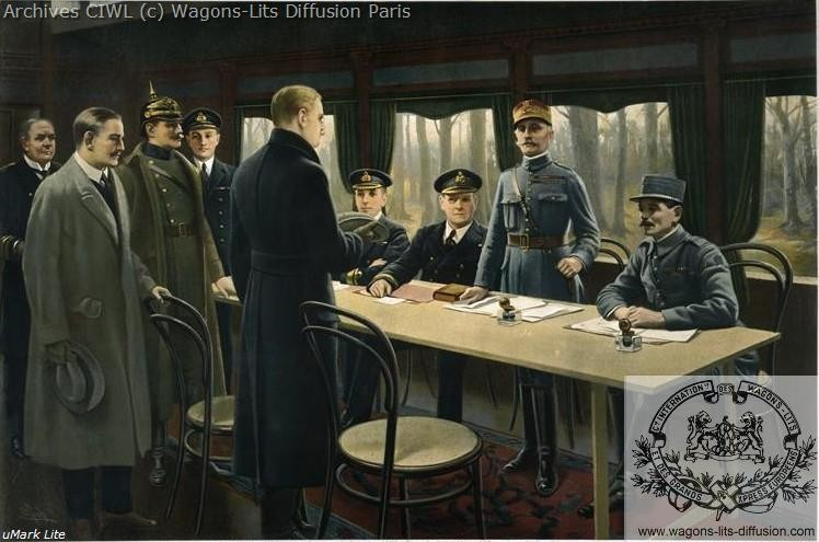 Wl armistice wagon rethondes 1