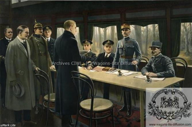WL armistice Wagon Rethondes