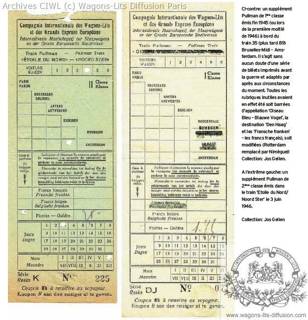 Wl billet etoile du nord 1930 nl