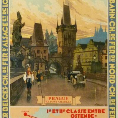WL Calais Ostende Prague 1932