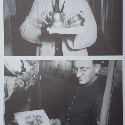 Wl cigares pour churchill et eden night ferry 1951