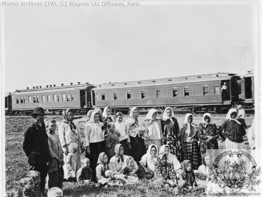 Wl compagnie internationale des wagons lits et des grands express europeens immigres russie