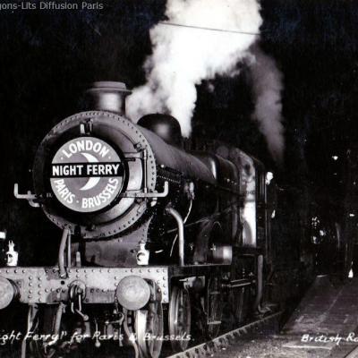 Wl cp night ferry 1950