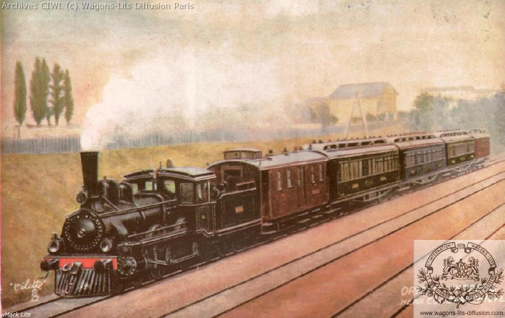 Wl cp orient express constantinople 1900