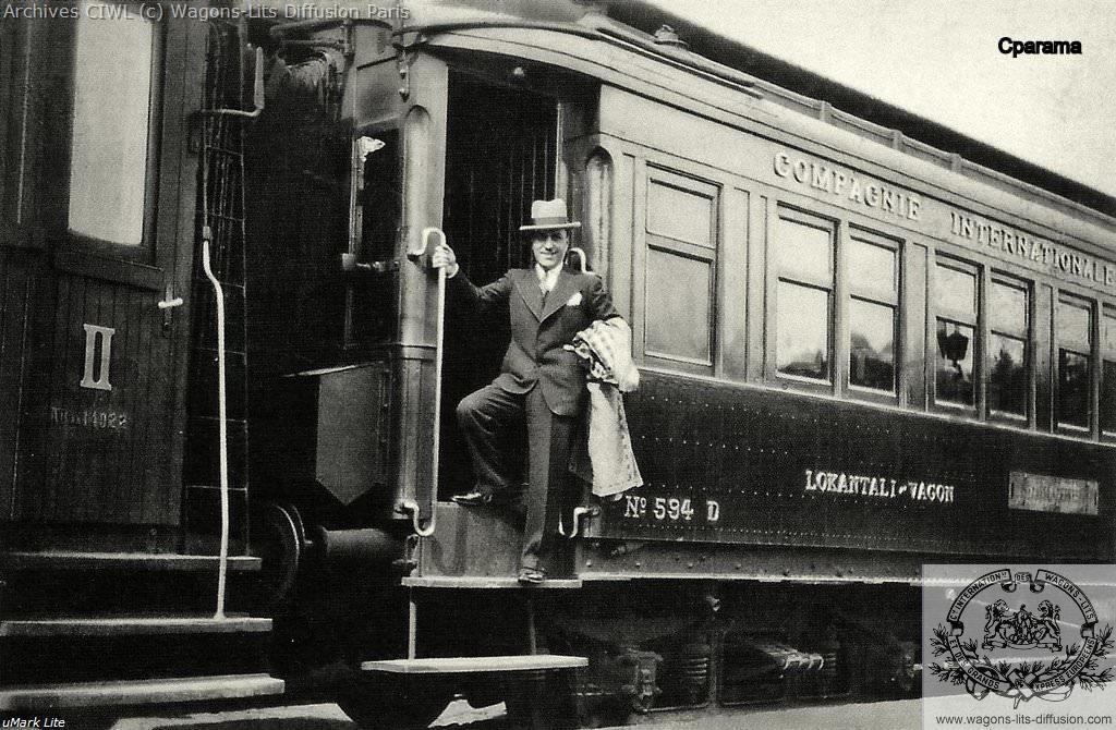 Wl cp voiture restaurant n 594 de l orient express a istanboul en 1932