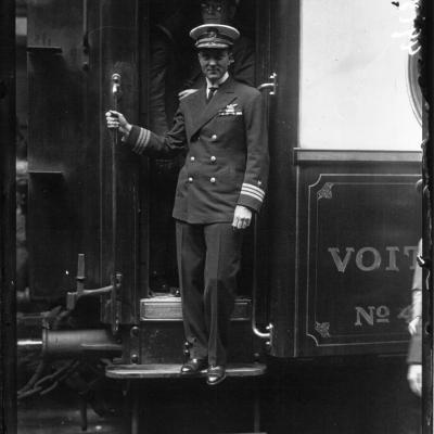 Wl depart de byrd gare du nord 1927
