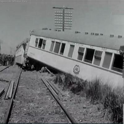 Wl egypt railways ciwlt train crash south of cairo 22 march 1956