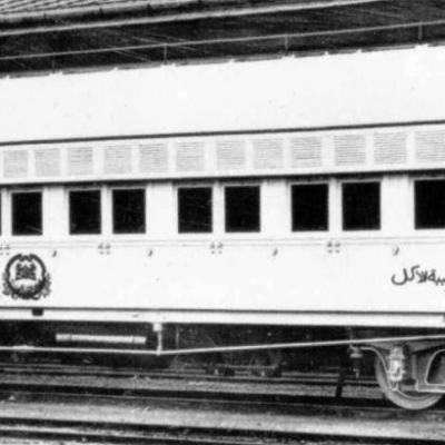 Wl egyptian state railways ciwl wagons lits dining car nr 812 ringhoffer 1899