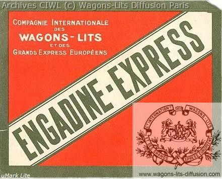 Wl etiquette engadine express