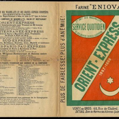 Wl first orient express brochure 1887