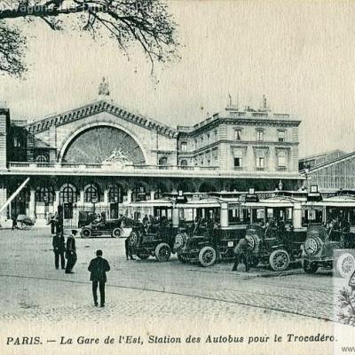 Wl gare de l est vers 1921