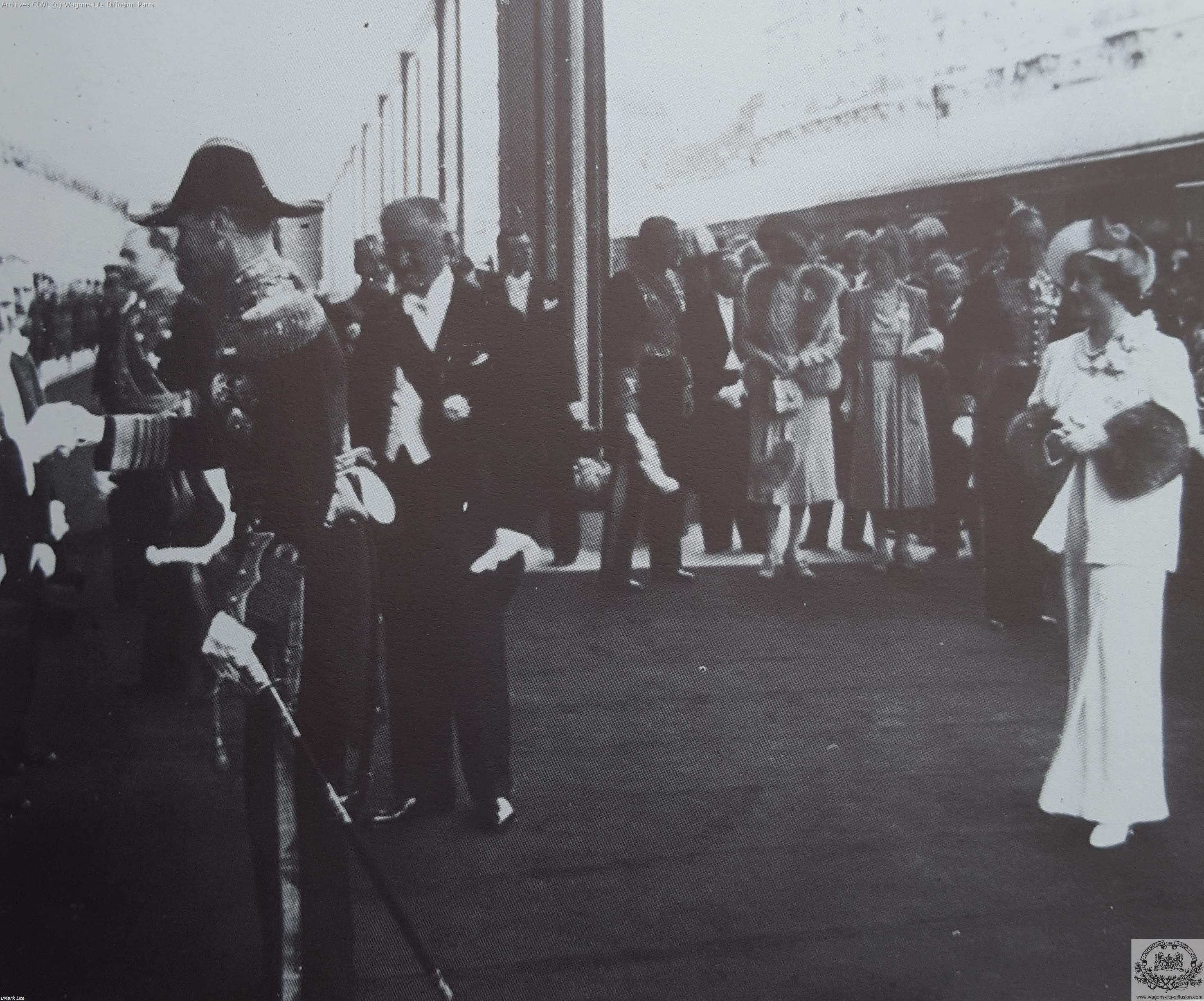 Wl george vi pres lebrun elisabeth 1938