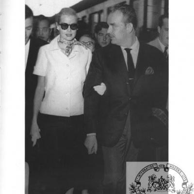 Wl grace kelly et prince rainier 1957