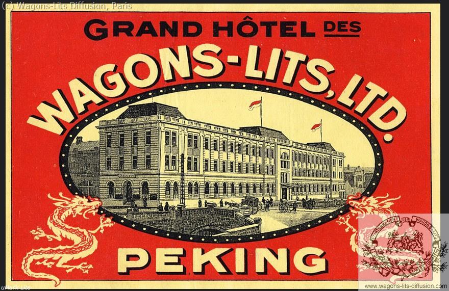 WL Grand Hotel Peking Etiquette bagage