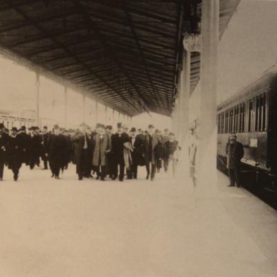Wl inaugural train berlin constantinople 1900