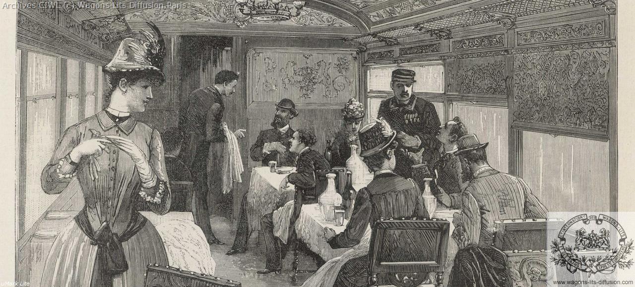 Wl interieur voiture restaurant orient express 1883