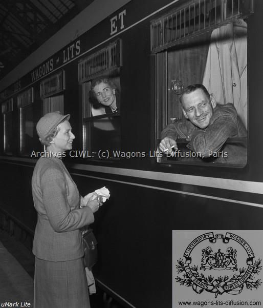WL le roi et la reine du danemark vers 1960