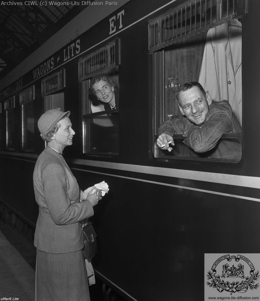 Wl le roi et la reine du danemark vers 1961