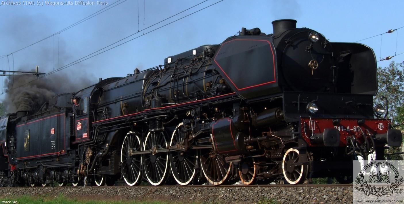 Wl loco france oe 241 65 en 1932