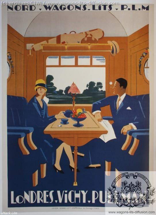 WL Londres Vichy Pullman PLM (Ref N° 879