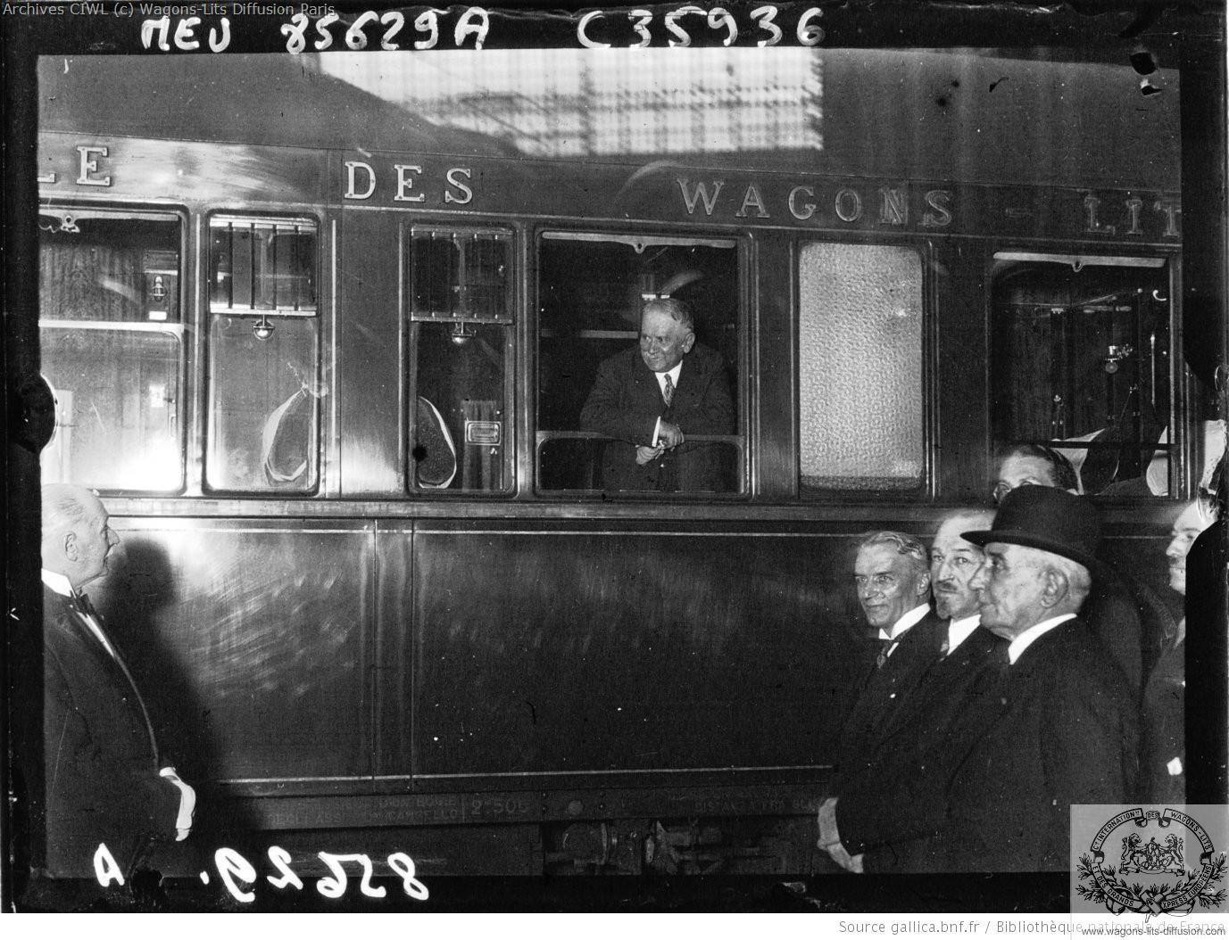 Wl m doumergue president conseil avant son depart pour tournefeuilles 1931 wl lx