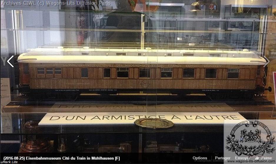 Wl maquette voiture 4219 armistice mulhouse 1
