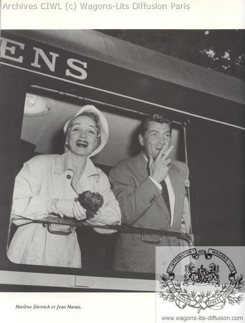 Wl marlene dietrich y jean marais 1956