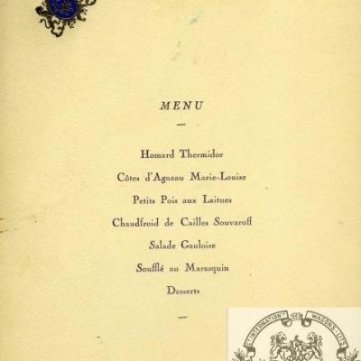 Wl menu oct 1929