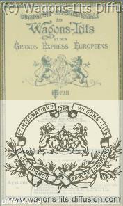 WL menu orient express