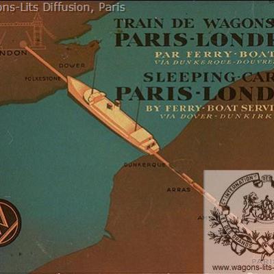 WL Night Ferry Booklet