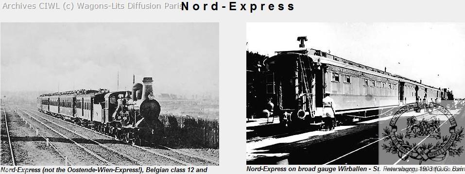 Wl nord express 1903