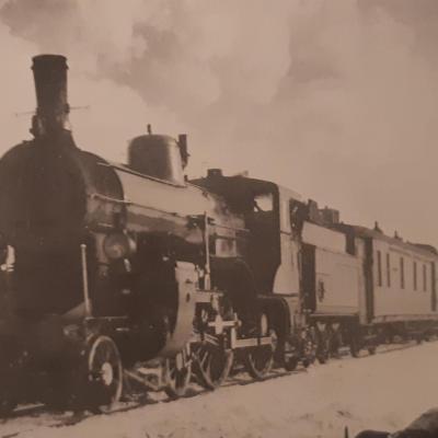 Wl nord express pres de trient en 1905