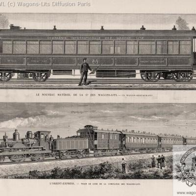 Wl orient express 1884 l illustration