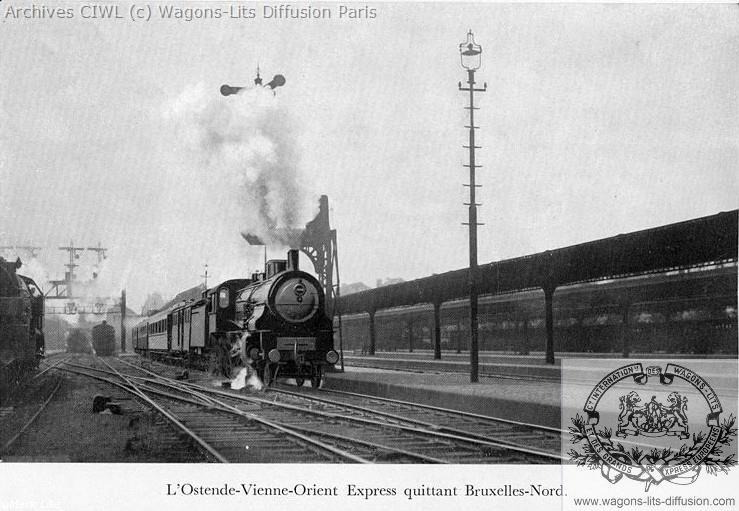 Wl orient express a bruxelles 1921