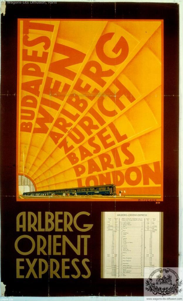 WL Orient Express Arlberg
