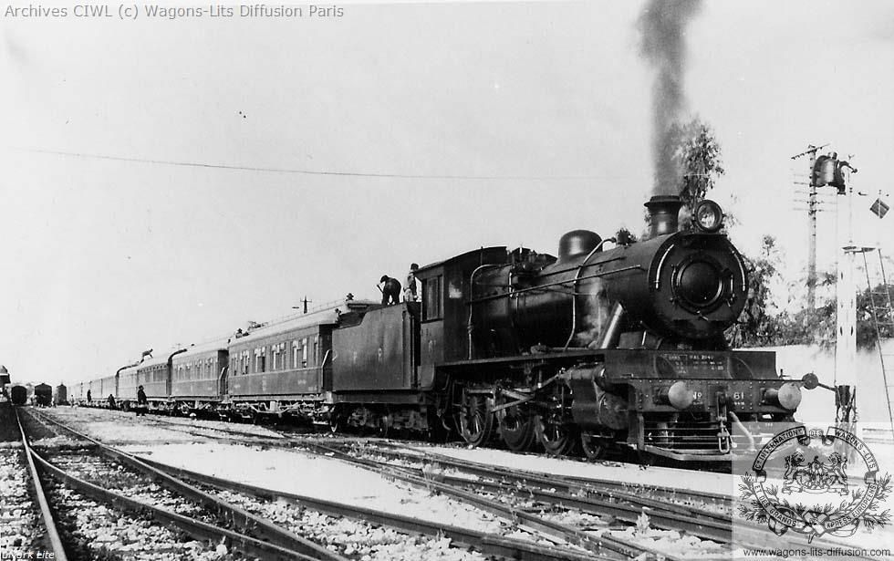 Wl palestine railways lydda junction in 1936 steam locomotive nr 61 north british locomotive works glasgow