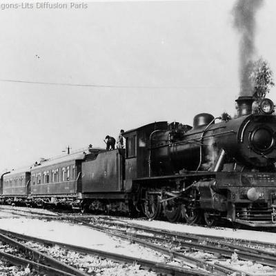 Wl palestine railways lydda junction in 1936 steam locomotive nr 61 north british locomotive works glasgow