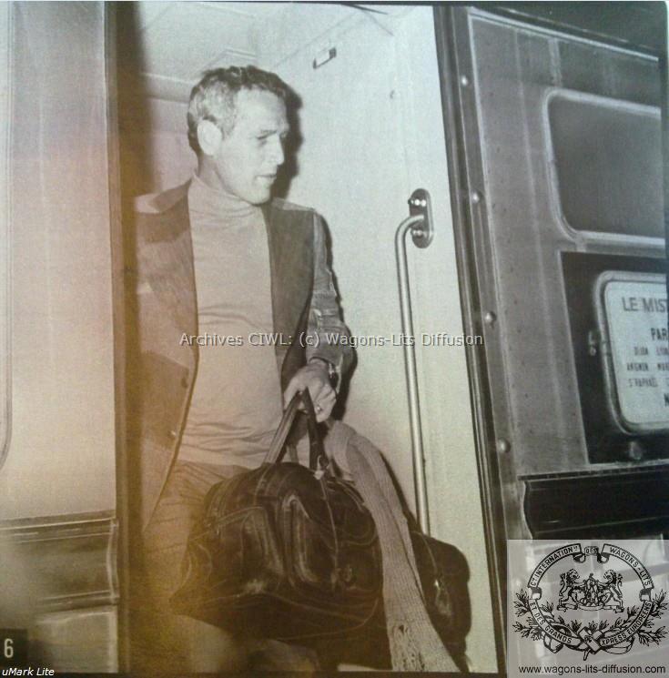 WL Paul Newman sur le Mistral